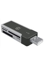 Shintaro Shintaro USB2.0 External Mini Multi Card Reader for Micro-SD/SD/MMC/MS/MS Duo