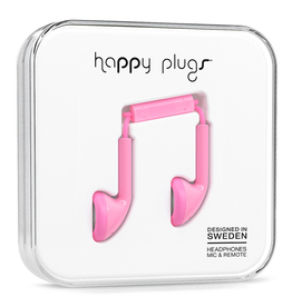 Happy Plugs Happy Plugs Earbud Pink