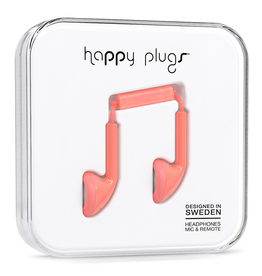 Happy Plugs Happy Plugs Earbud Coral
