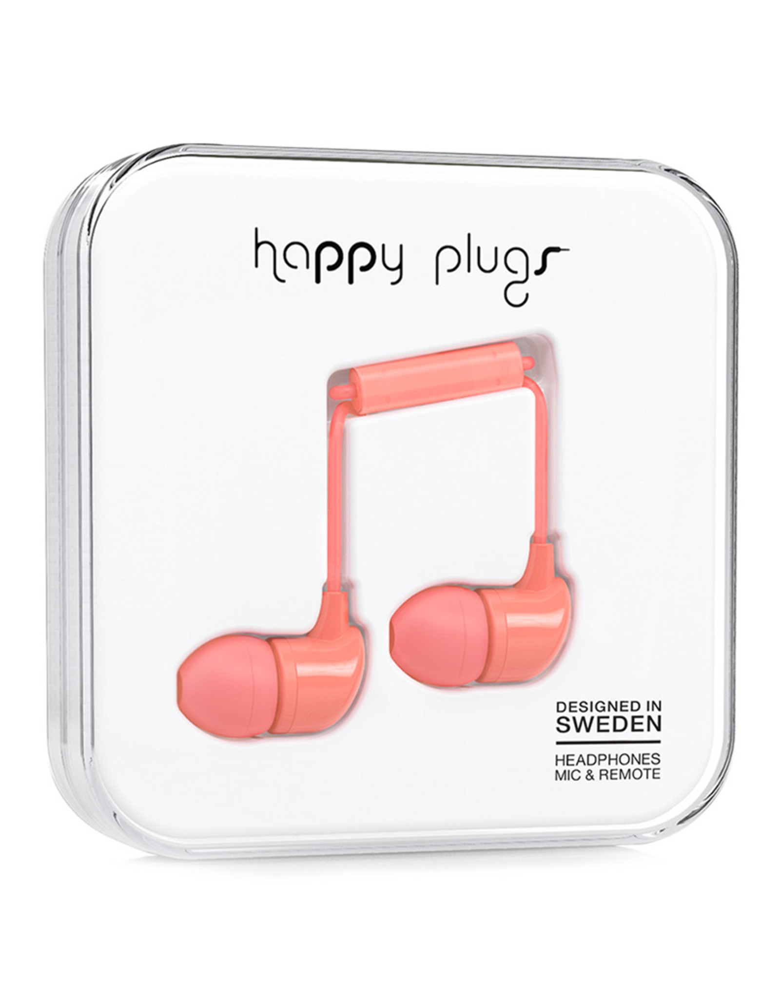 Happy Plugs Happy Plugs In-Ear Coral