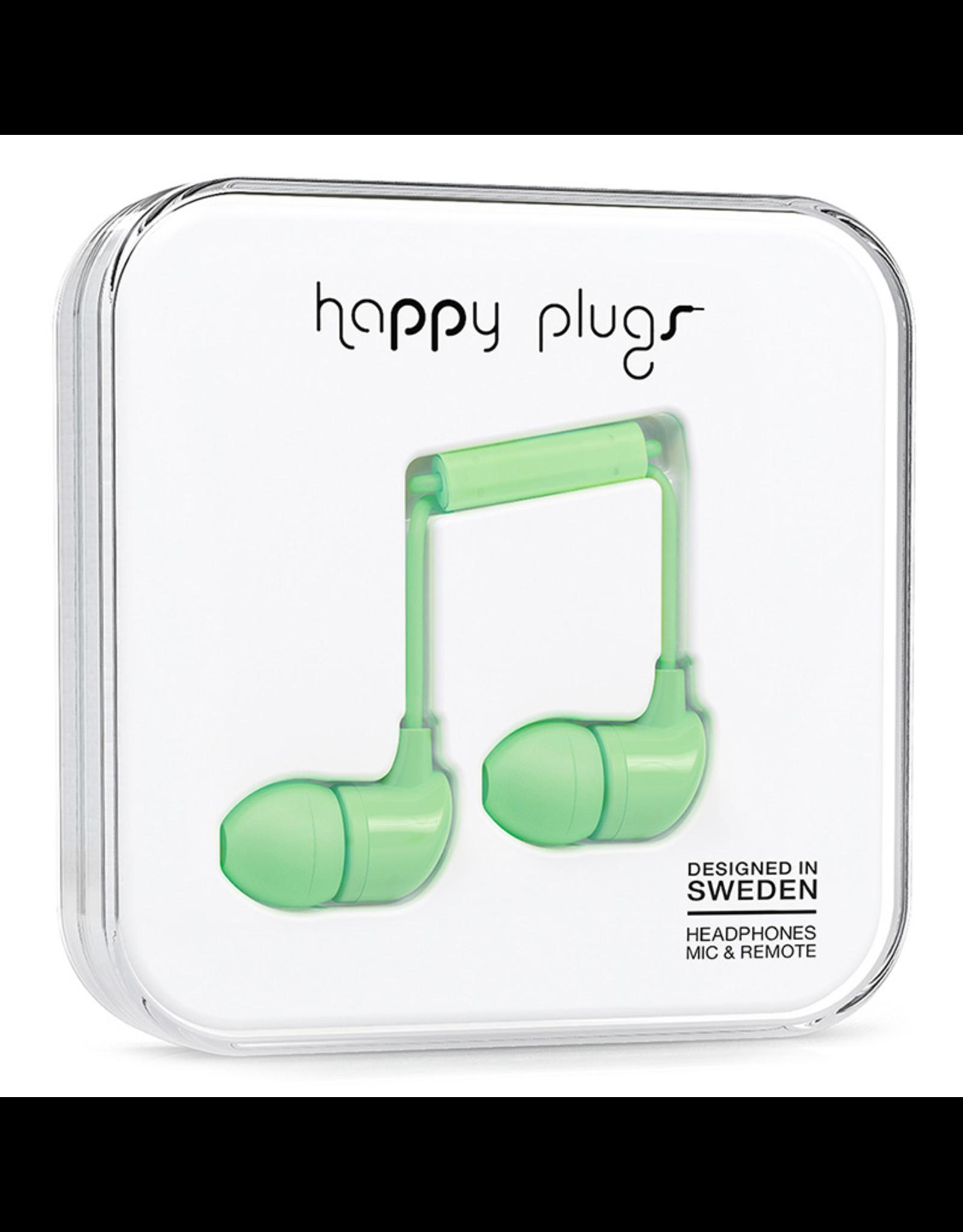 Happy Plugs Happy Plugs In-Ear Mint EOL