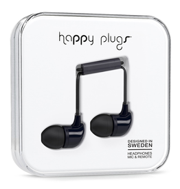 Happy Plugs Happy Plugs In-Ear Black EOL