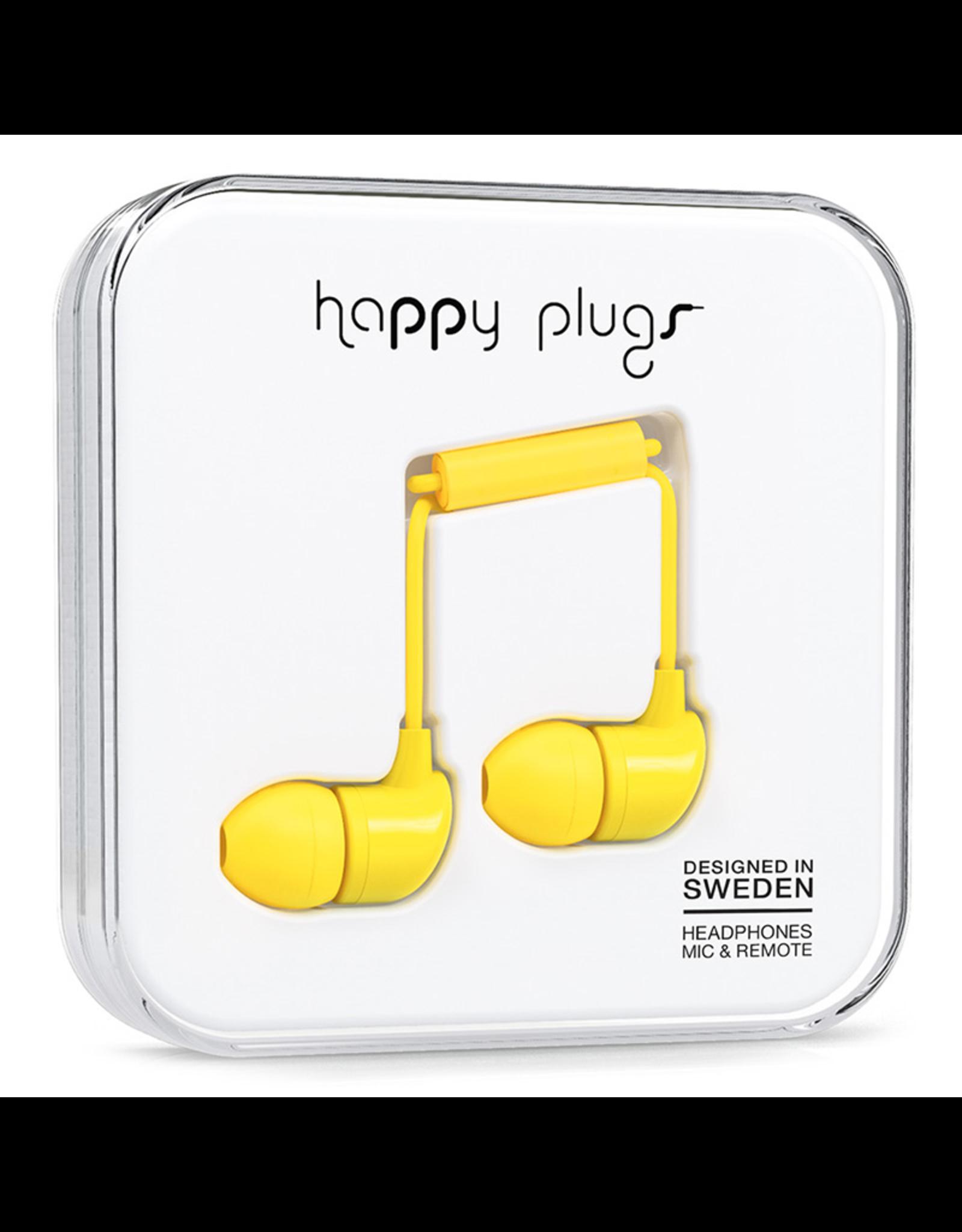 Happy Plugs Happy Plugs In-Ear Yellow EOL