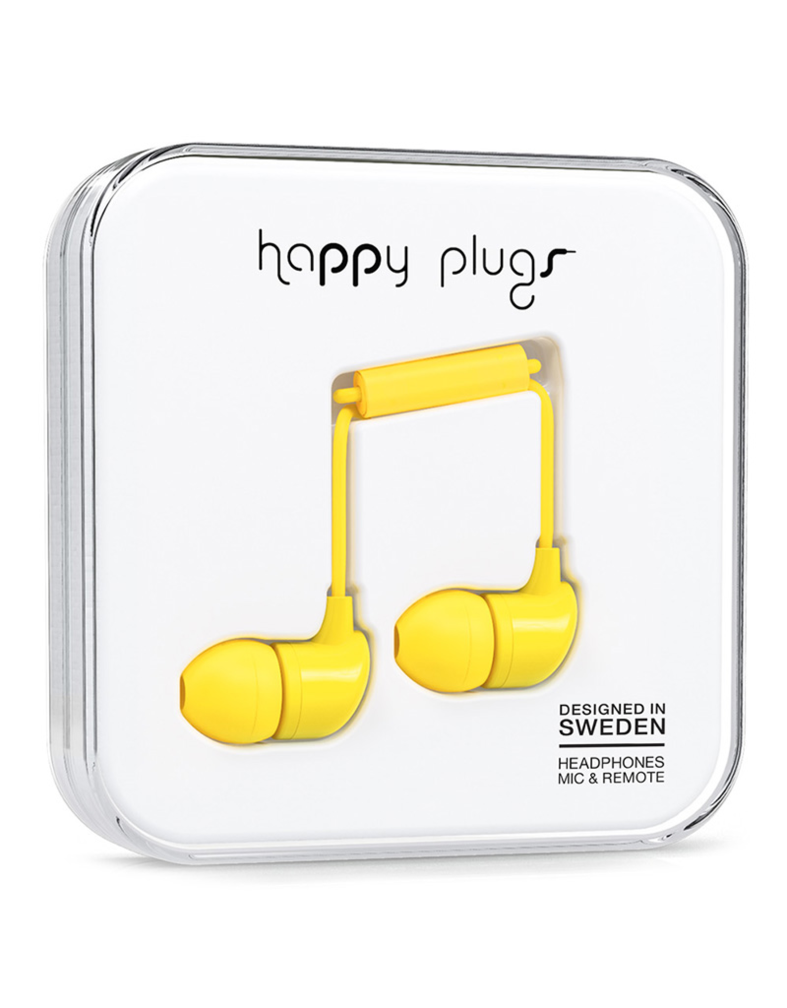 Happy Plugs Happy Plugs In-Ear Yellow