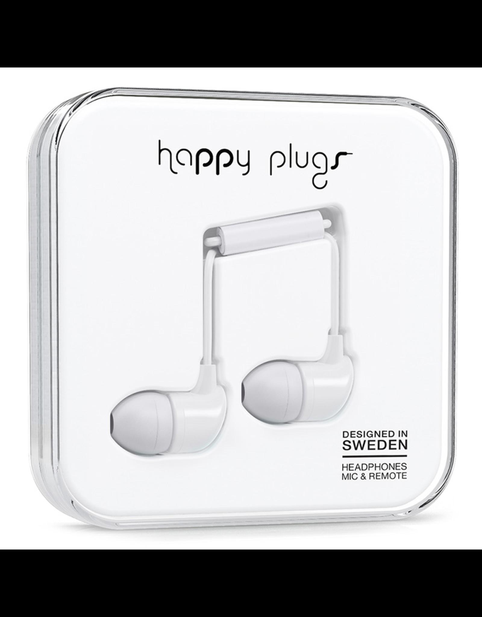 Happy Plugs Happy Plugs In-Ear White EOL