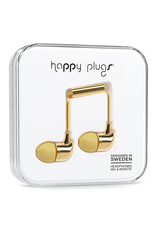 Happy Plugs Happy Plugs In-Ear Gold EOL
