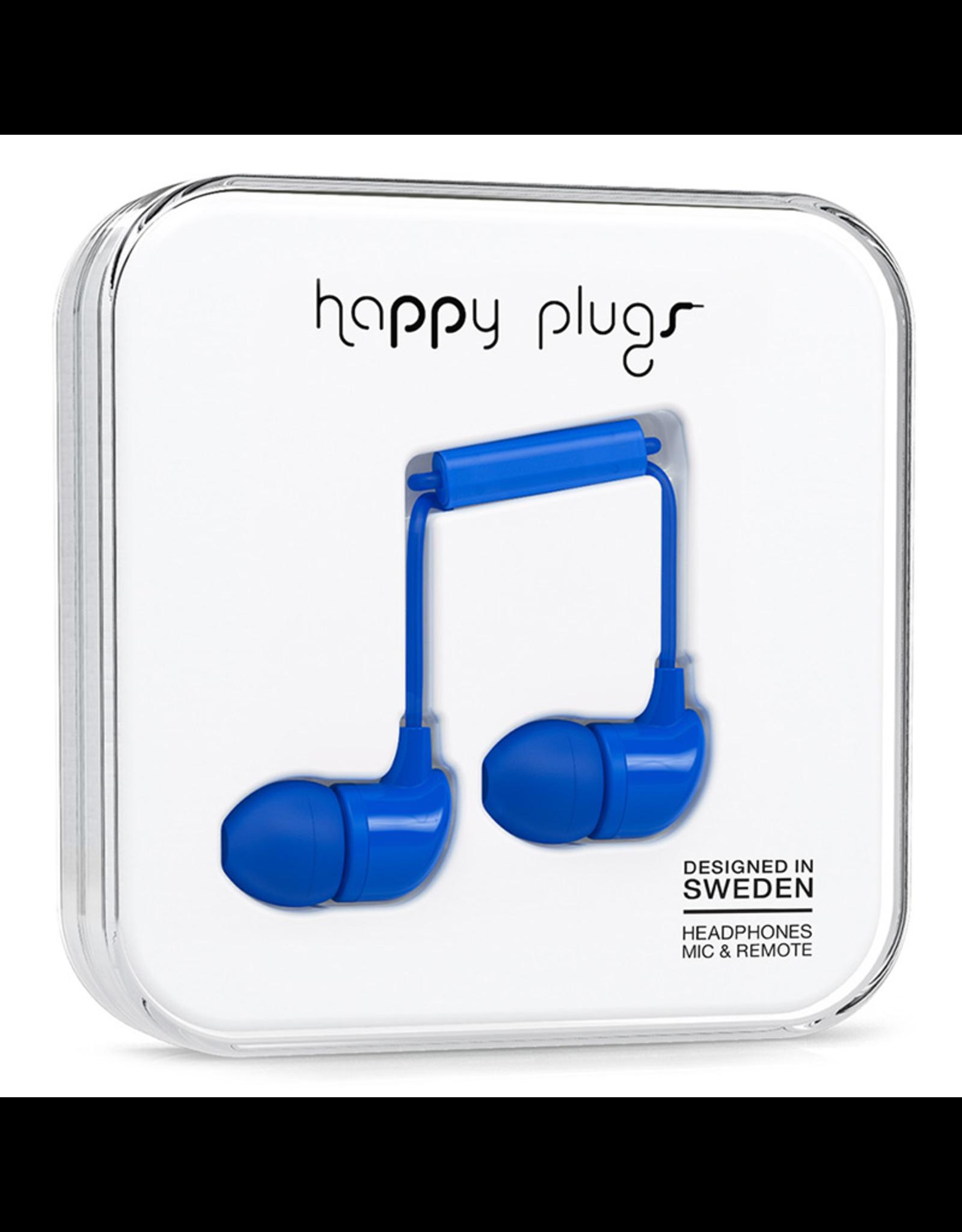 Happy Plugs Happy Plugs In-Ear Cobalt EOL