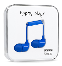 Happy Plugs Happy Plugs In-Ear Cobalt EOL