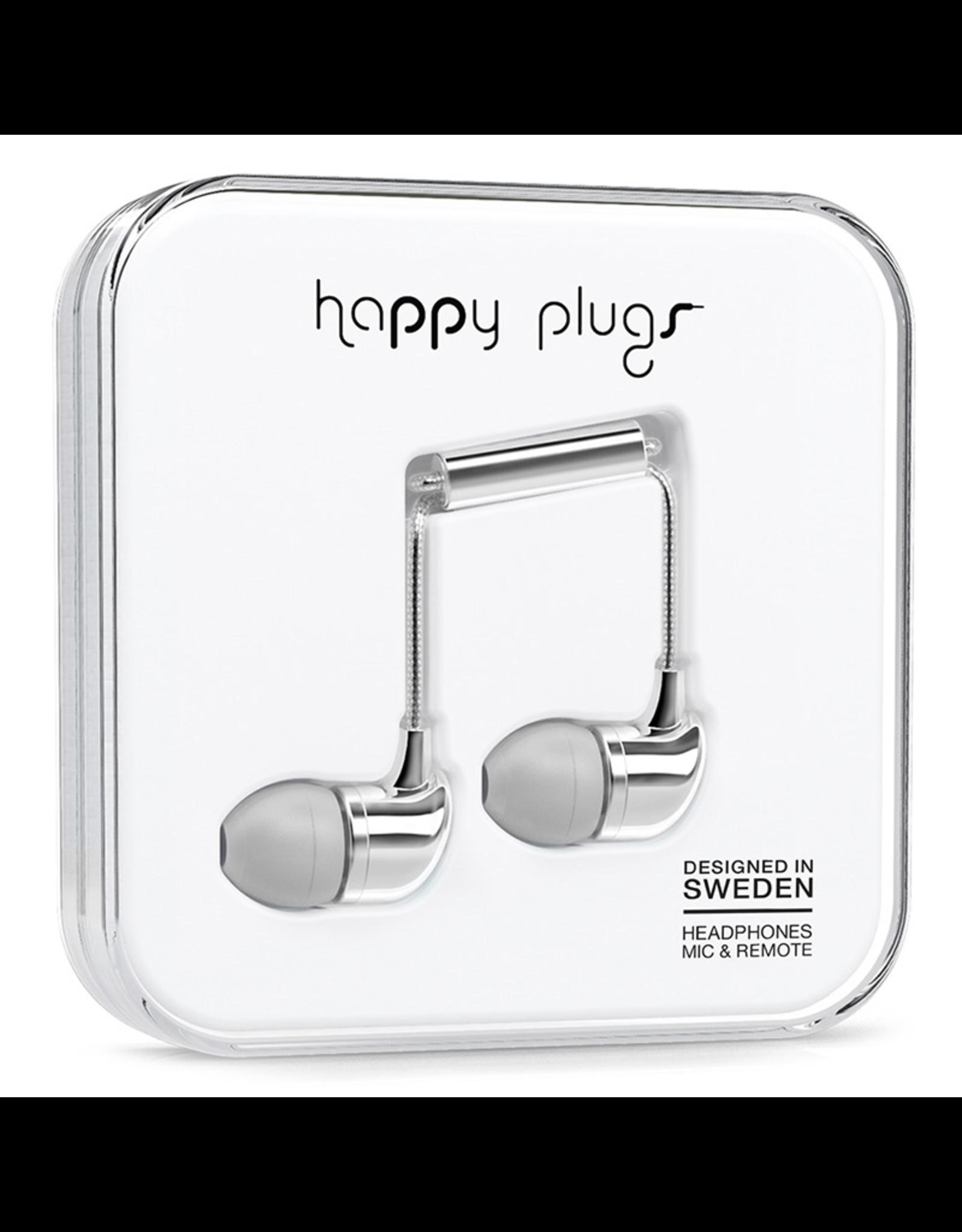 Happy Plugs Happy Plugs In-Ear Silver EOL