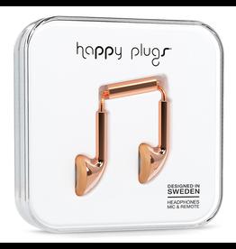 Happy Plugs Happy Plugs Earbud Rose Gold EOL
