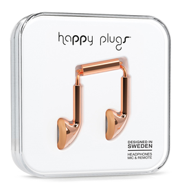 Happy Plugs Happy Plugs Earbud Rose Gold