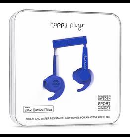 Happy Plugs Happy Plugs Sport Headphones - Cobalt EOL