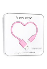 Happy Plugs Happy Plugs Lightning to USB Pink EOL