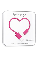 Happy Plugs Happy Plugs Lightning to USB Cerise EOL