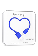 Happy Plugs Happy Plugs Lightning to USB Cobalt EOL