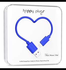Happy Plugs Happy Plugs Lightning to USB Cobalt EOL