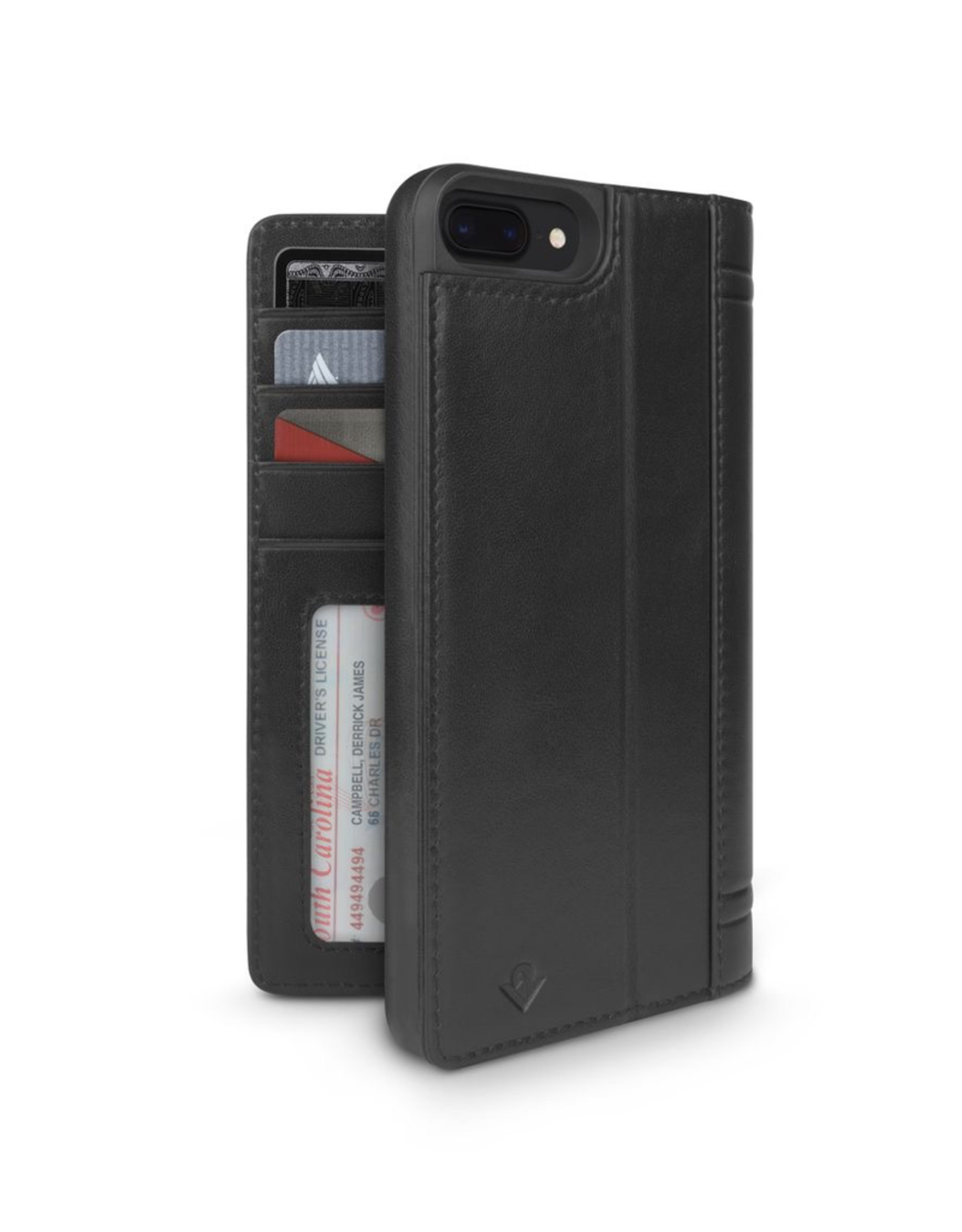 Twelve South Twelve South Journal for iPhone 8/7/6s Plus - Black