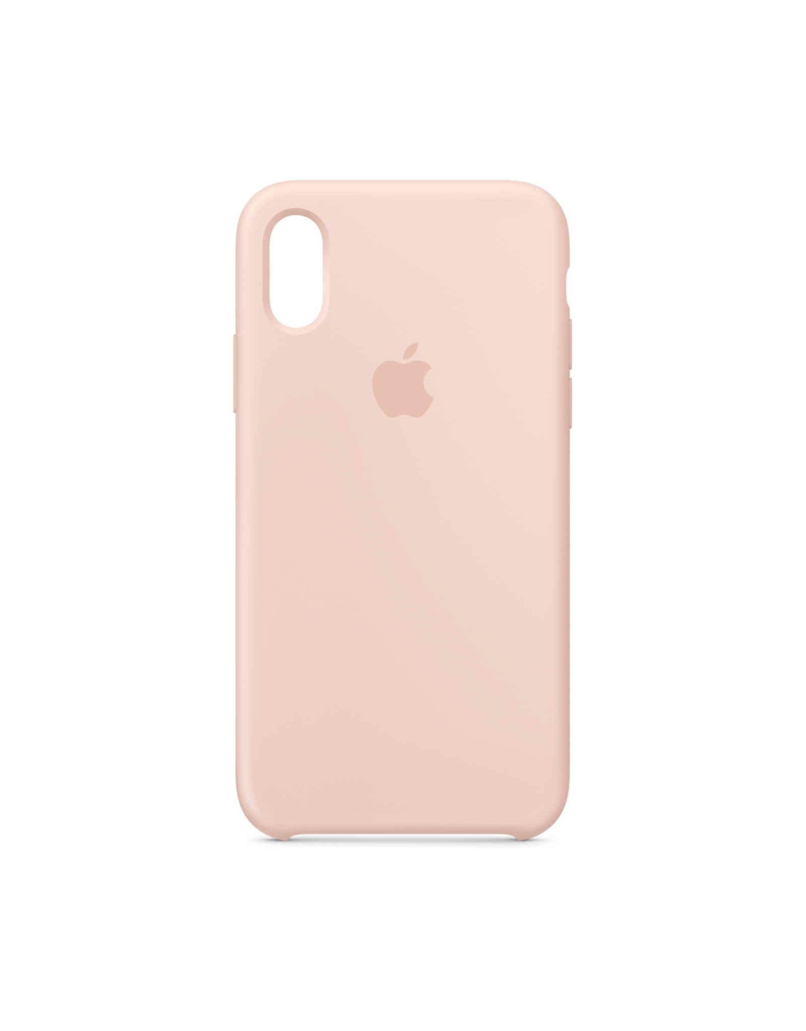 Apple Apple iPhone XS Silicone Case Pink Sand
