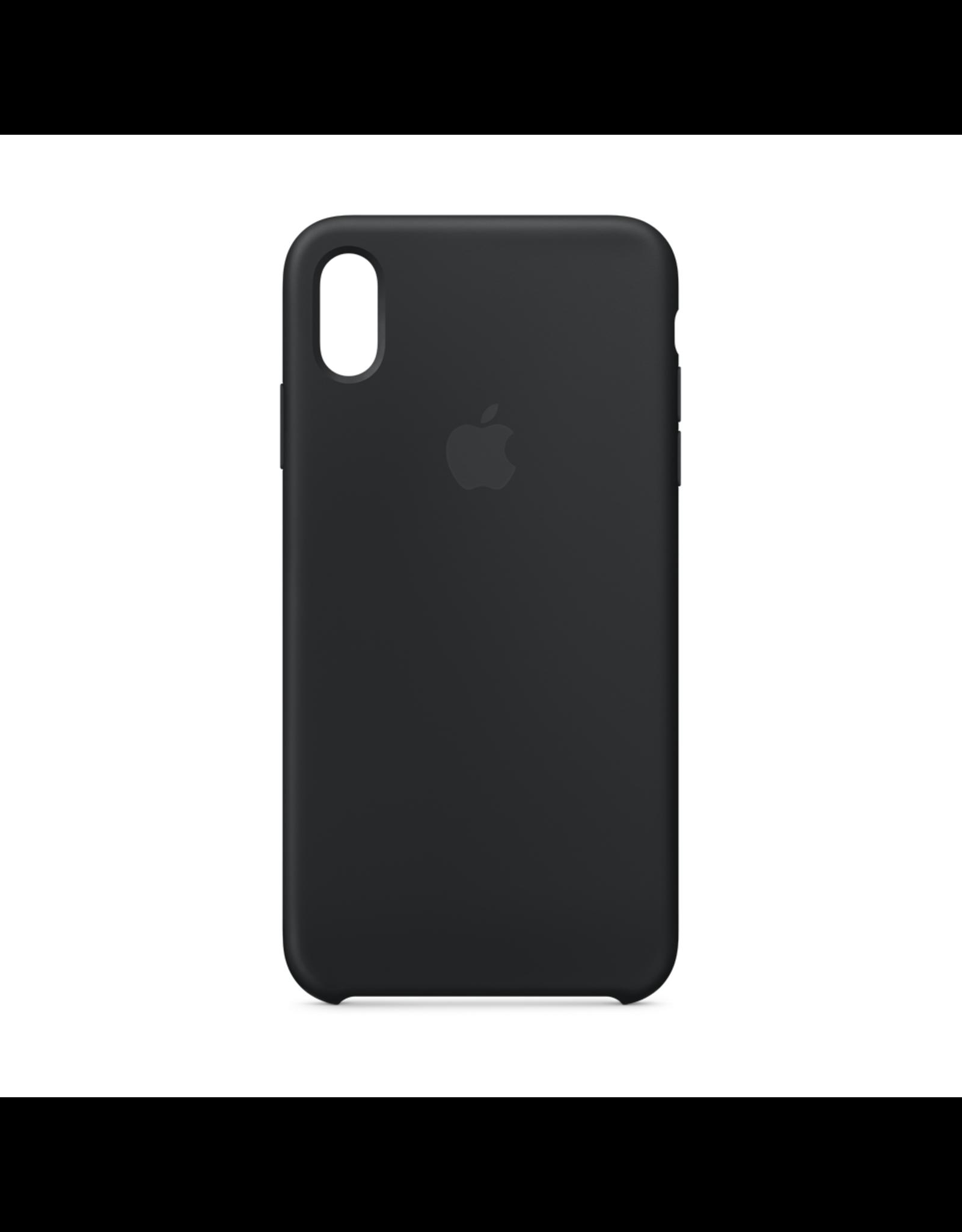 Apple Apple iPhone XS Max Silicone Case Black