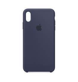 Apple Apple iPhone XS Max Silicone Case Midnight Blue