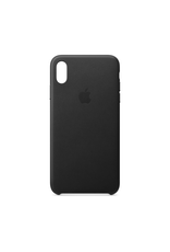 Apple Apple iPhone XS Max Leather Case Black