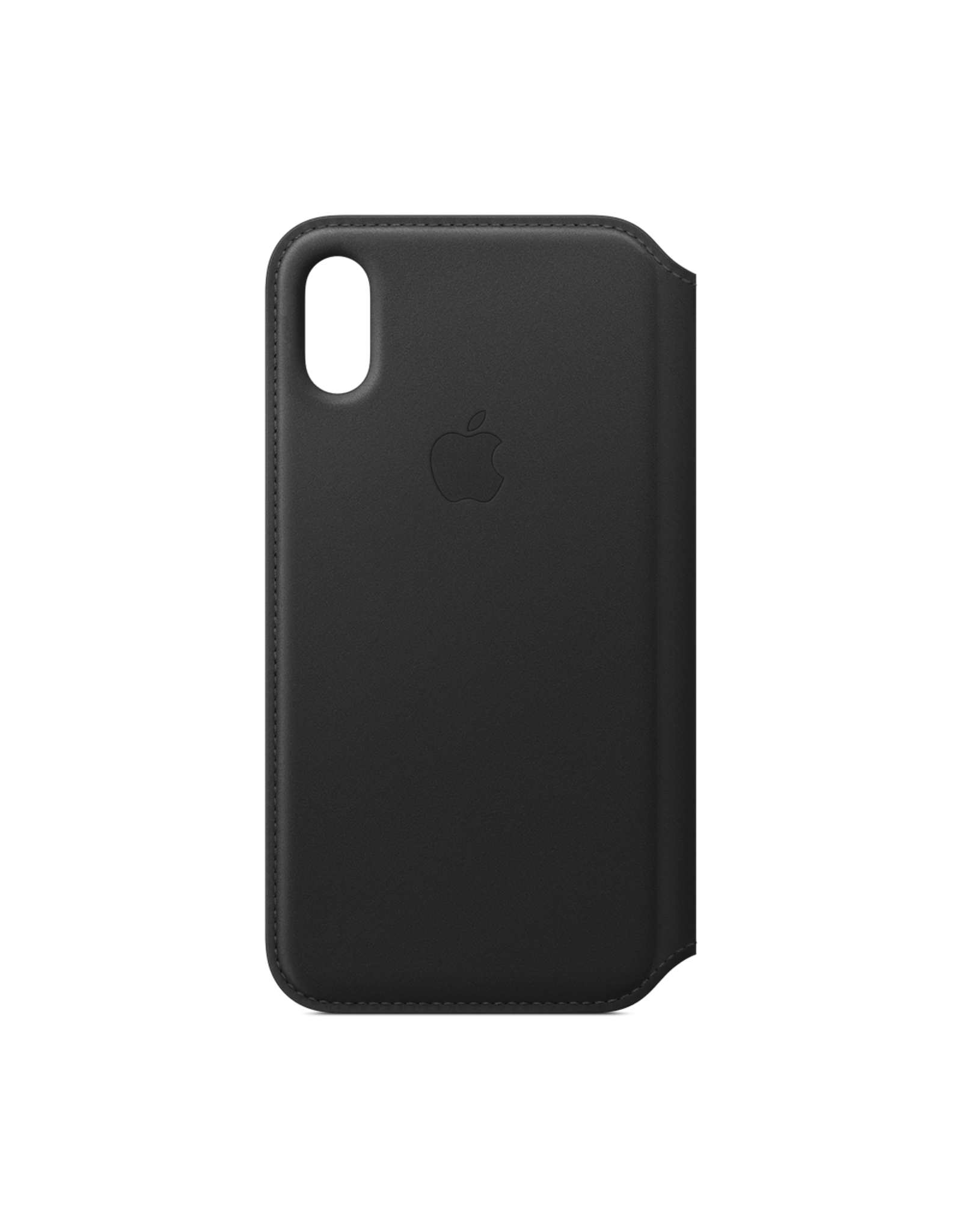 Apple Apple iPhone XS Leather Folio Black