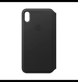 Apple Apple iPhone XS Max Leather Folio Black