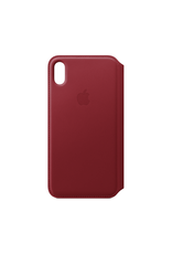 Apple Apple iPhone XS Max Leather Folio Red