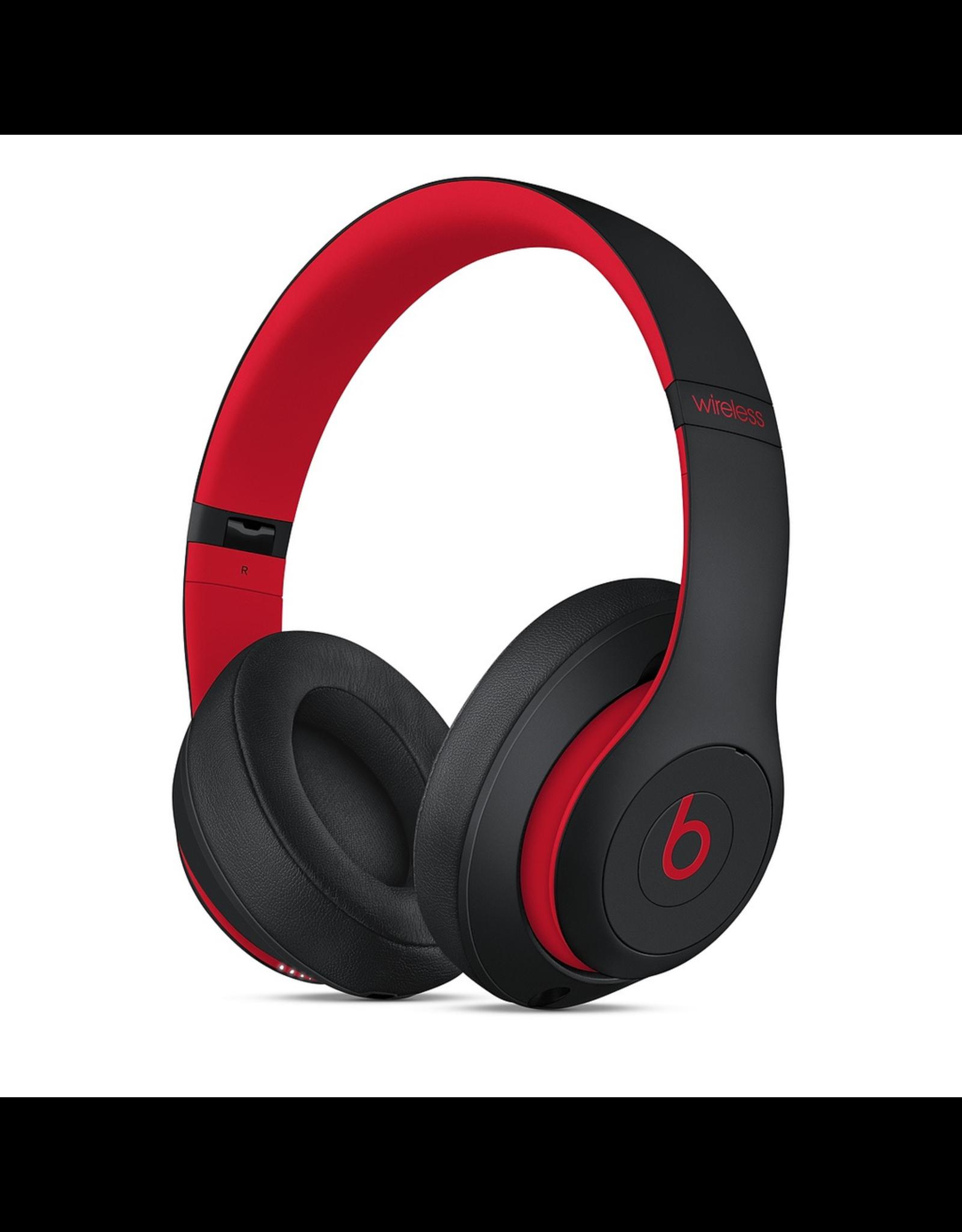 Beats Beats Studio3 Wireless Over-Ear Headphones - Decade Collection - Defiant Black-Red
