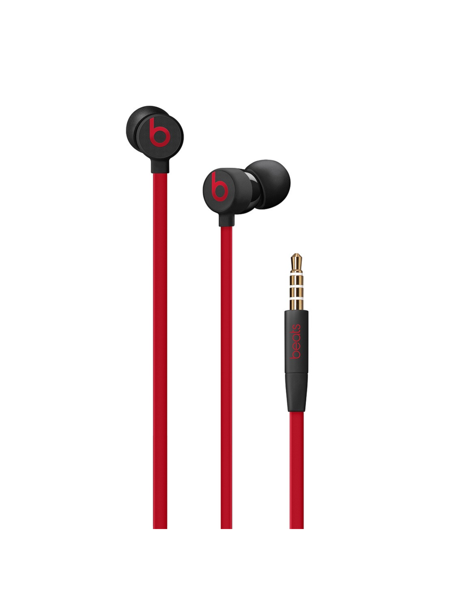 Beats Beats Urbeats3 Earphones With 3.5mm Plug - Decade Collection - Defiant Black-Red