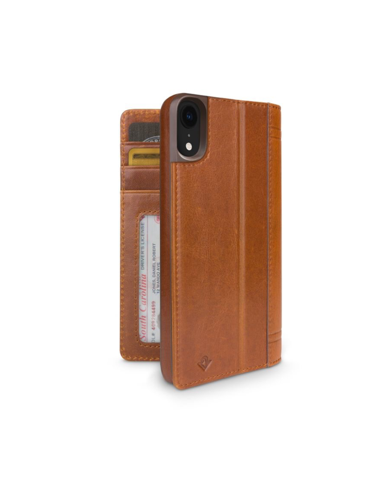 Twelve South Twelve South Journal for iPhone XR - Cognac