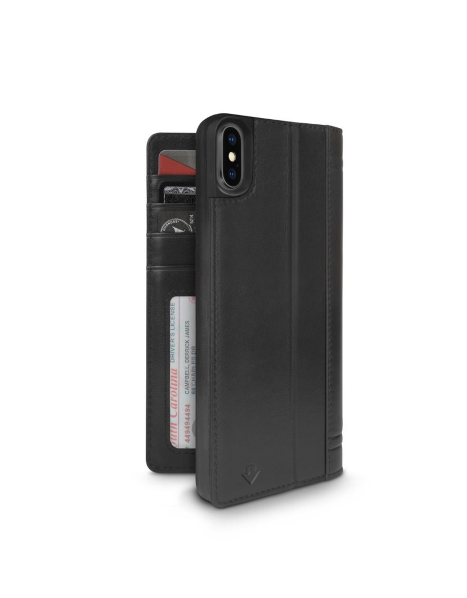 Twelve South Twelve South Journal for iPhone XS Max - Black