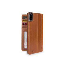 Twelve South Twelve South Journal for iPhone XS Max - Cognac
