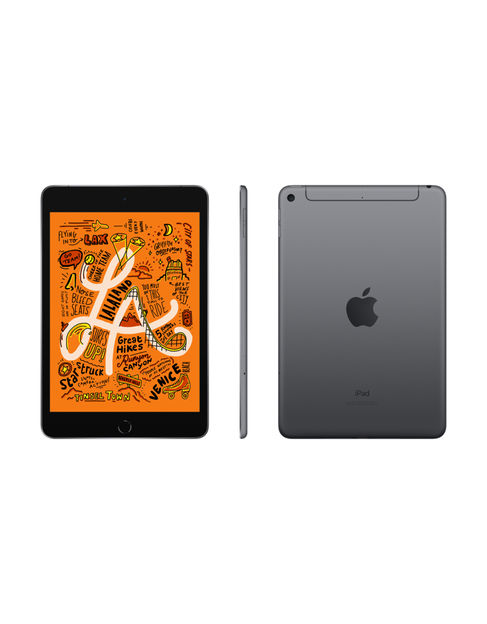 Apple iPad mini 5 Wi-Fi + Cellular 256GB - Space Grey