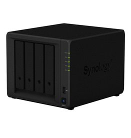 Synology Synology DS418 48TB 4-Bay Gigabit NAS Server (4x12TB Seagate Ironwolf 3YR)
