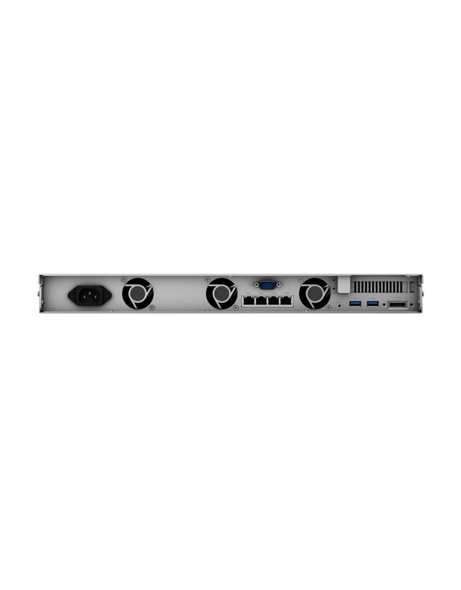 Synology Synology RS818+ 56TB 4-Bay 1RU High Performance 2.4GHz Quadcore NAS Server (4x14TB Value Enterprise HDD 5YR)