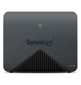 Synology Synology Wireless Mesh Router MR2200ac -2 x 2 MIMO 2.4GHz / 5GHz high-speed wireless router with 1 gigabit ethernet ports, WPS, USB3.0