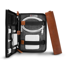 Twelve South Twelve South Journal Caddysack - COGNAC - Luxury travel case for your Mac accessories