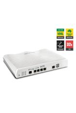 Draytek Draytek Vigor2862 - Multi WAN Firewall QoS IPv6 Router with VDSL2/ADSL2+, Gigabit, and 3G/4G USB WAN port for Load Balancing and Fail-over, 4 x Giga LANs, CSM, 32 x VPNs, 16 x SSL VPNs, and support Smart Monitor (30 nodes) & VigorACS SI