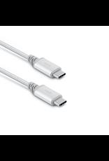 Moshi Moshi Integra USB-C to USB-C Charge Cable (1m) (Silver)