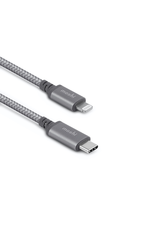Moshi Moshi Integra USB-C Charge/Sync Cable with Lightning Connector (1.2m) (Grey)