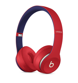Beats Beats Solo3 Wireless Headphones - Beats Club Collection - Club Red