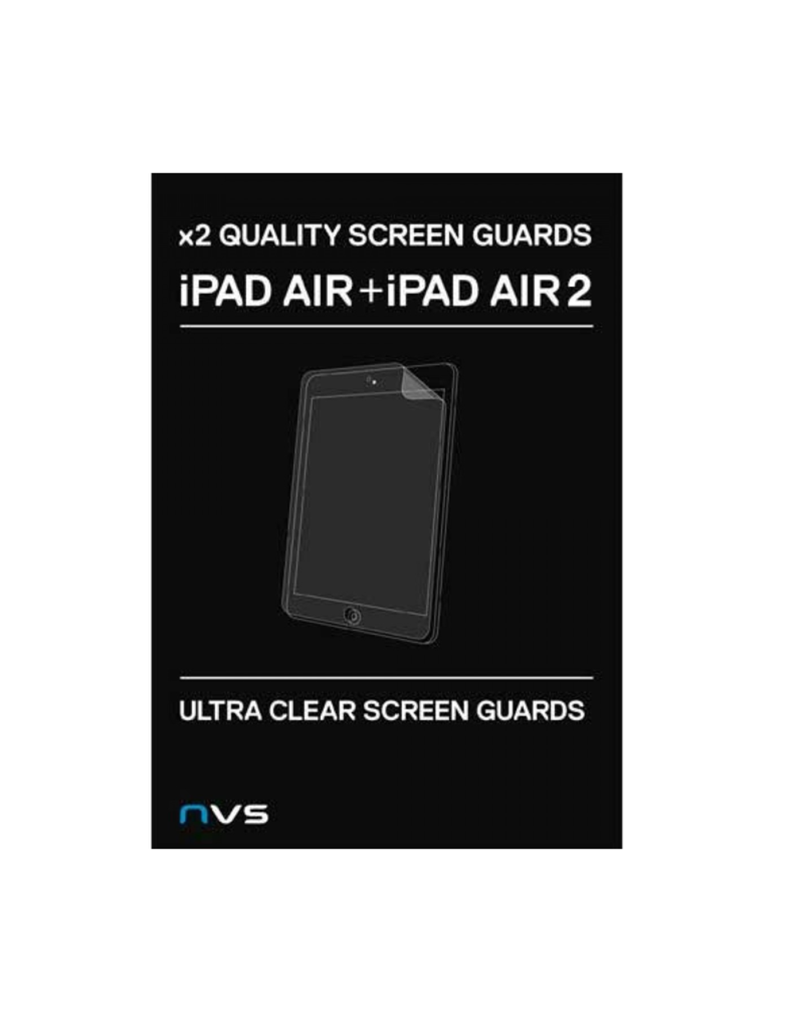NVS NVS Screen Guard (2 pack) Ultra clear for iPad Air/Air 2