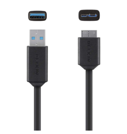 Belkin Belkin Superspeed USB 3.0 cable A to Micro-B