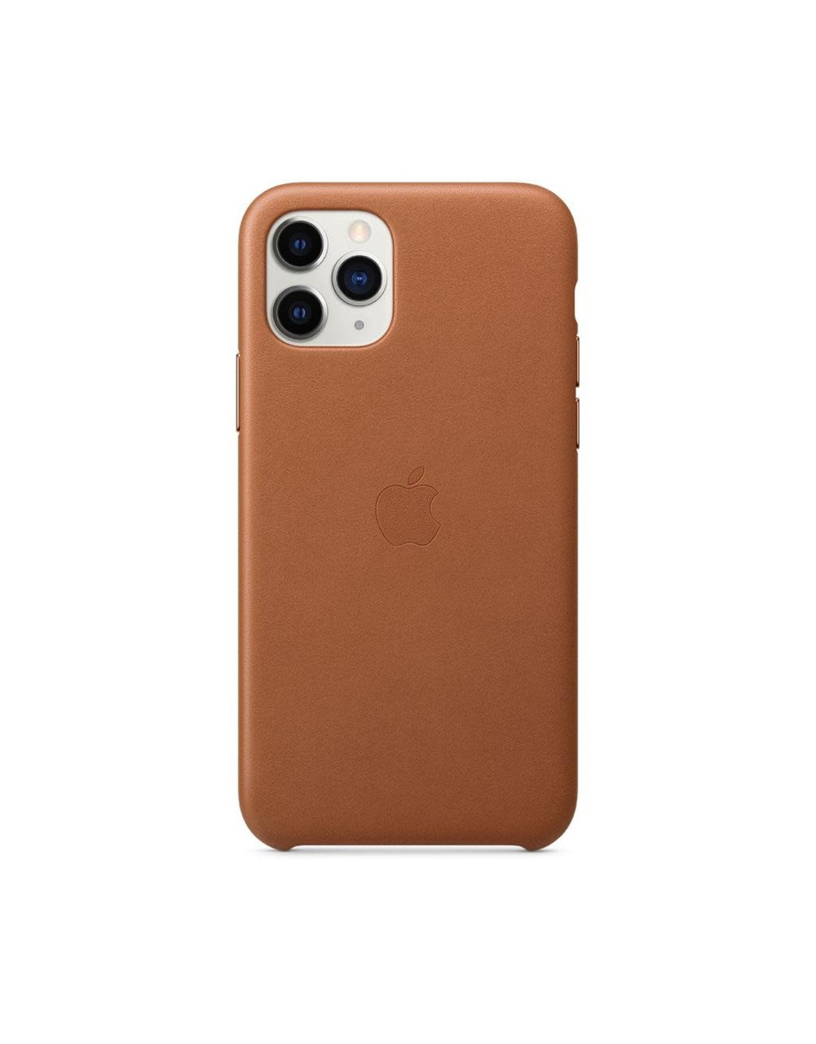 Apple Apple iPhone 11 Pro Leather Case - SADDLE BROWN