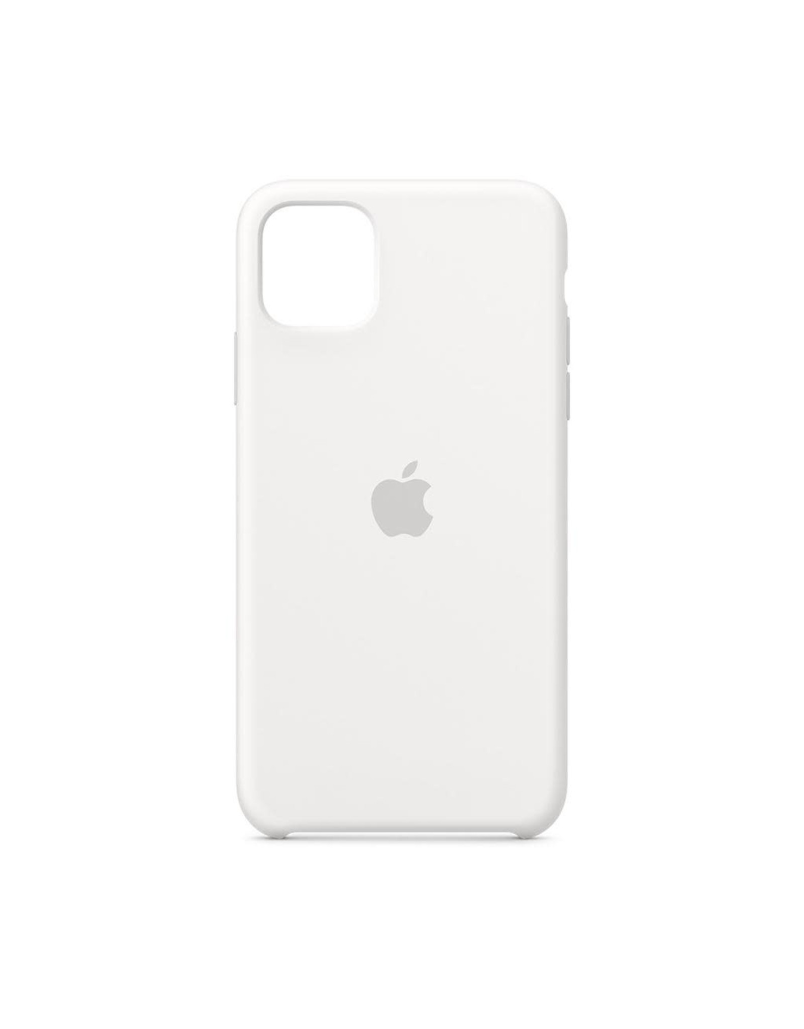 Apple Apple iPhone 11 Pro Max Silicone Case - WHITE