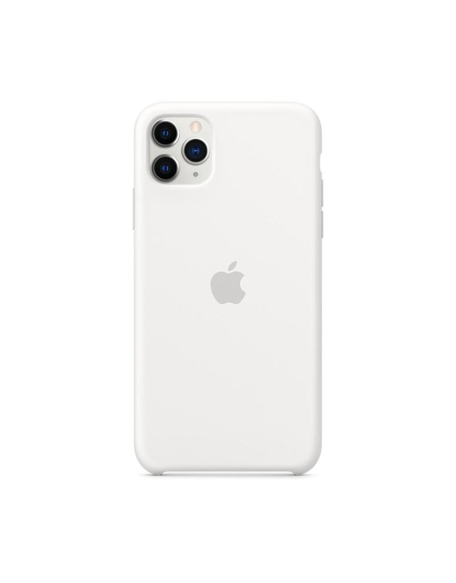 Apple Apple iPhone 11 Pro Max Silicone Case - WHITE