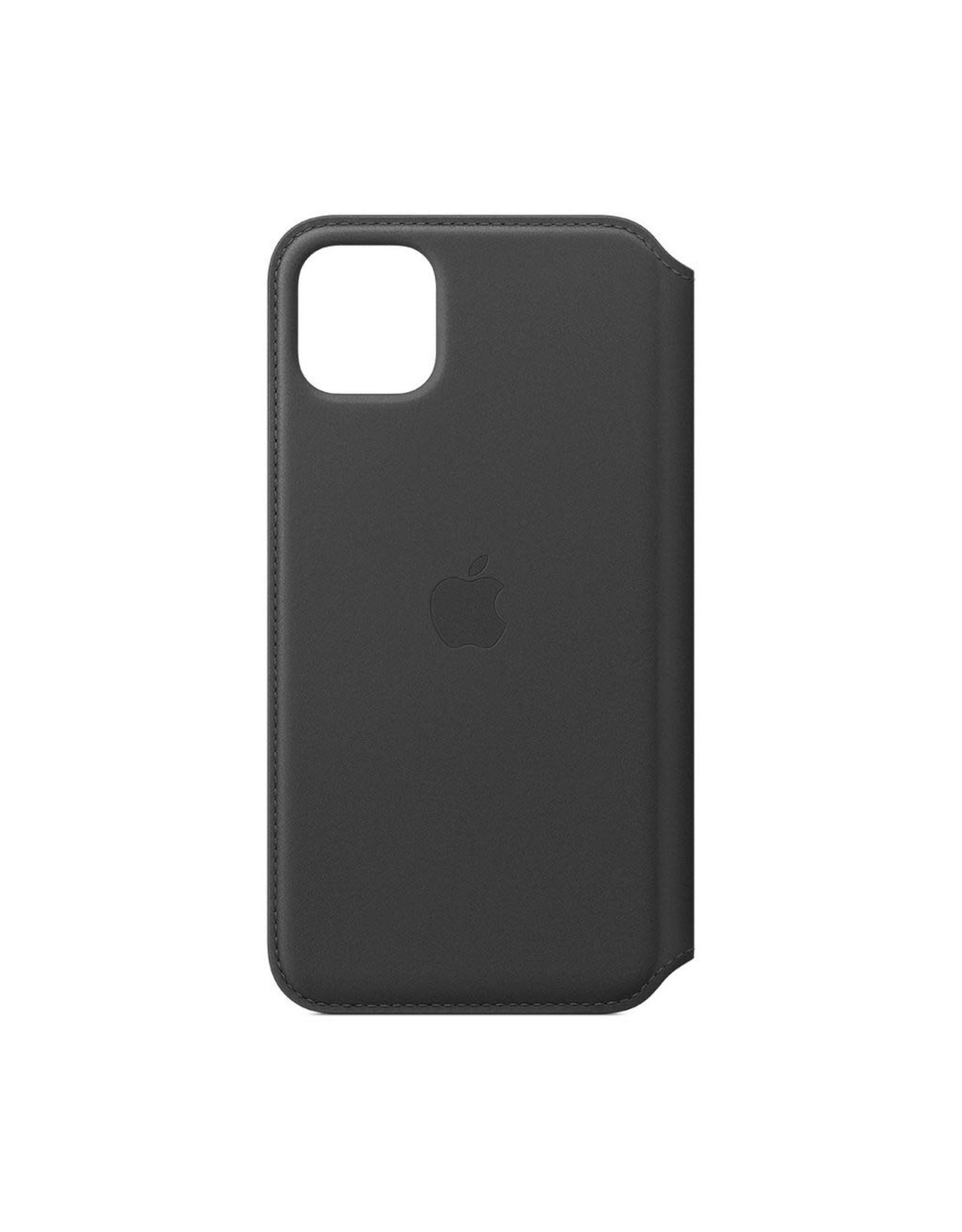 Apple Apple iPhone 11 Pro Max Leather Folio - BLACK