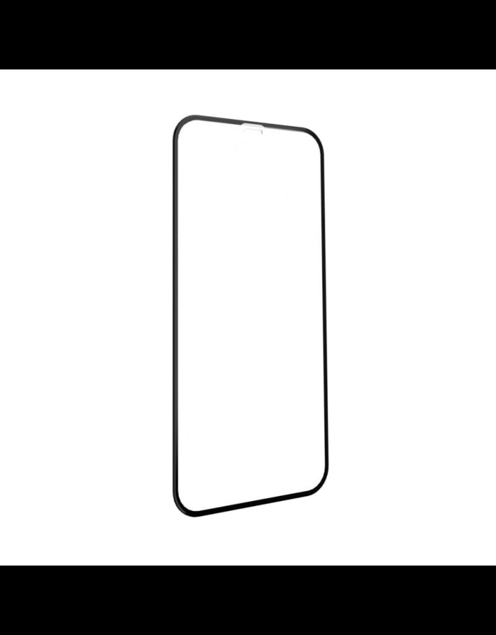 EFM EFM Impact Glass iPhone XR/11 Screen Armour Display Optimised - Clear/Black Frame