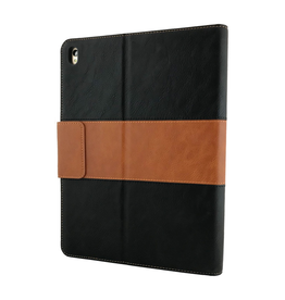 "NVS NVS Apollo Multiview Folio for iPad 10.2"" - Black/Tan"
